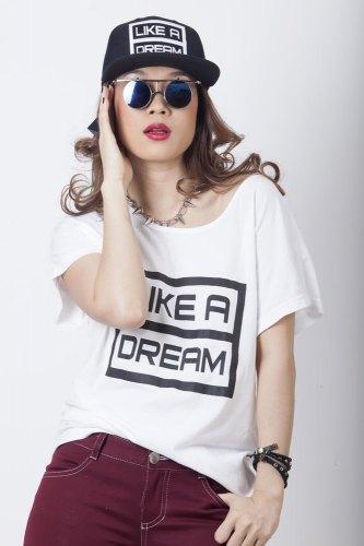 Áo thun nữ Like A Dream (Free Size)