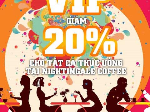 Chương trình thẻ VIP Nightingale Coffee